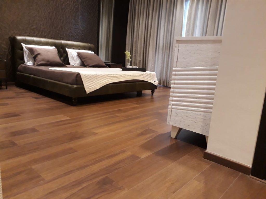 Characteristics of vinyl floors